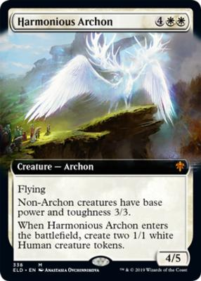 GADWICK EXTENDED ART Throne Of Eldraine Variants Magic MTG CARD THE WIZENED