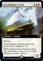 Throne of Eldraine Variants: Harmonious Archon (Extended Art)