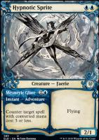 Throne of Eldraine Variants: Hypnotic Sprite (Showcase)