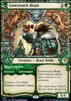 Throne of Eldraine Variants Foil: Lovestruck Beast (Showcase)