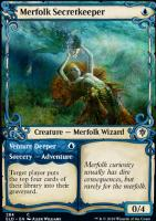 Throne of Eldraine Variants: Merfolk Secretkeeper (Showcase)