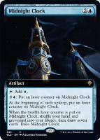 Throne of Eldraine Variants: Midnight Clock (Extended Art)