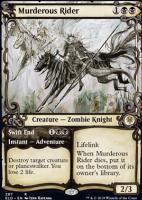 Throne of Eldraine Variants Foil: Murderous Rider (Showcase)