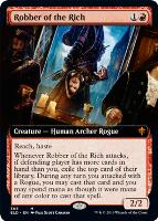 Throne of Eldraine Variants Foil: Robber of the Rich (Extended Art)