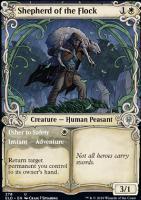Throne of Eldraine Variants: Shepherd of the Flock (Showcase)