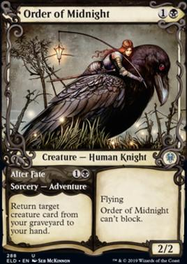 Throne of Eldraine Variants: Order of Midnight (Showcase)