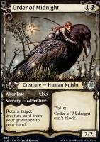 Throne of Eldraine Variants Foil: Order of Midnight (Showcase)