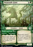 Throne of Eldraine Variants: Beanstalk Giant (Showcase)