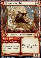 Throne of Eldraine Variants Foil: Rimrock Knight (Showcase)