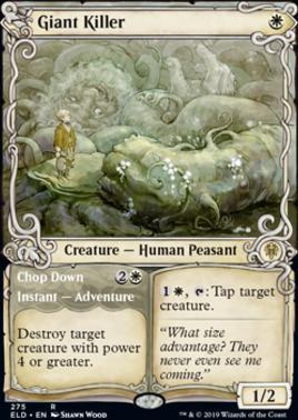 Throne of Eldraine Variants: Giant Killer (Showcase)