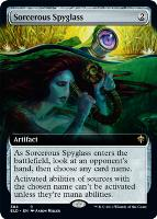 Throne of Eldraine Variants Foil: Sorcerous Spyglass (Extended Art)