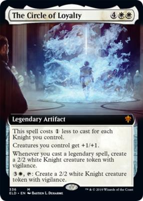 Throne of Eldraine Variants: The Circle of Loyalty (Extended Art)