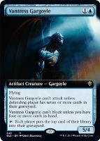 Throne of Eldraine Variants: Vantress Gargoyle (Extended Art)