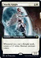 Throne of Eldraine Variants: Worthy Knight (Extended Art)