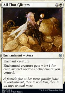 Throne of Eldraine Foil: All That Glitters