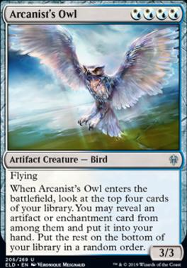 Throne of Eldraine: Arcanist's Owl