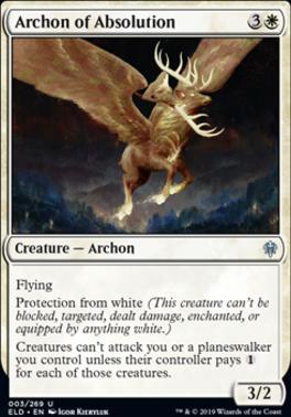 Throne of Eldraine: Archon of Absolution