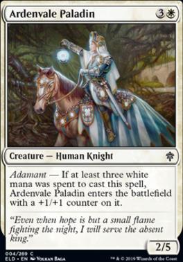 Throne of Eldraine: Ardenvale Paladin