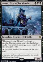 Throne of Eldraine: Ayara, First of Locthwain
