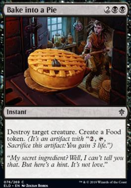 Throne of Eldraine: Bake into a Pie