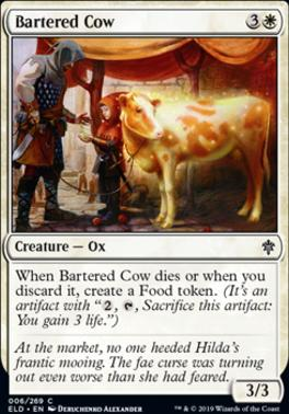 Throne of Eldraine: Bartered Cow