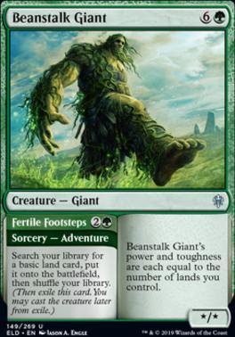 Throne of Eldraine: Beanstalk Giant