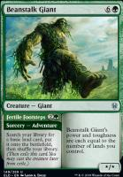 Throne of Eldraine: Beanstalk Giant