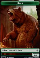 Throne of Eldraine Foil: Bear Token