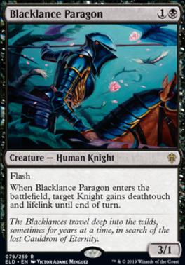 Throne of Eldraine: Blacklance Paragon