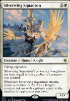 Throne of Eldraine: Silverwing Squadron (Brawl Deck Card)