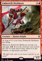 Throne of Eldraine: Embereth Skyblazer (Brawl Deck Card)