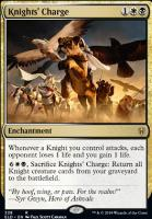Throne of Eldraine: Knights' Charge (Brawl Deck Card)