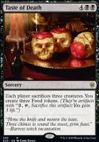 Throne of Eldraine: Taste of Death (Brawl Deck Card)