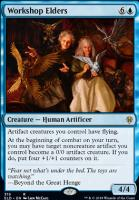 Throne of Eldraine: Workshop Elders (Brawl Deck Card)
