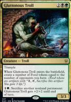 Throne of Eldraine: Gluttonous Troll (Brawl Deck Card)