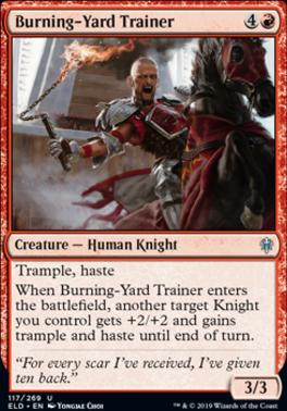 Throne of Eldraine: Burning-Yard Trainer