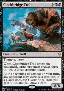Throne of Eldraine: Clackbridge Troll