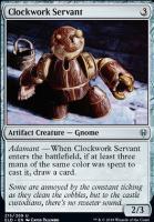 Throne of Eldraine: Clockwork Servant
