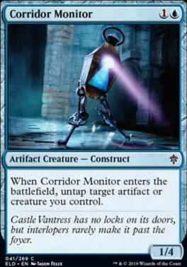 Throne of Eldraine: Corridor Monitor