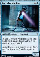 Throne of Eldraine Foil: Corridor Monitor