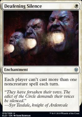Throne of Eldraine Foil: Deafening Silence
