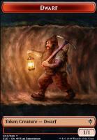 Throne of Eldraine: Dwarf Token