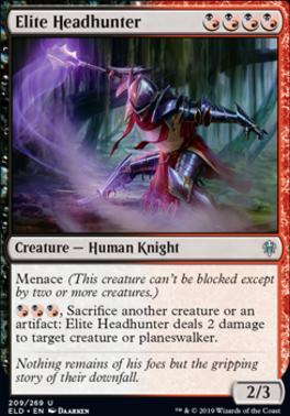 Throne of Eldraine: Elite Headhunter