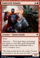 Throne of Eldraine: Embereth Paladin