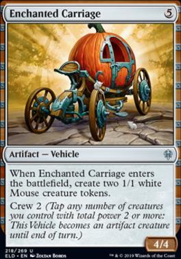 Throne of Eldraine: Enchanted Carriage