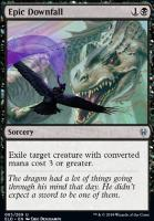 Throne of Eldraine Foil: Epic Downfall