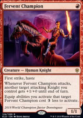 Throne of Eldraine: Fervent Champion