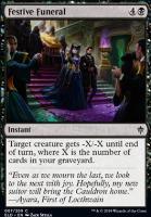 Throne of Eldraine Foil: Festive Funeral