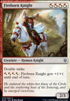 Throne of Eldraine Foil: Fireborn Knight