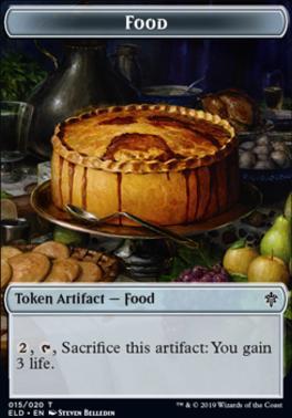 Throne of Eldraine: Food Token (015)